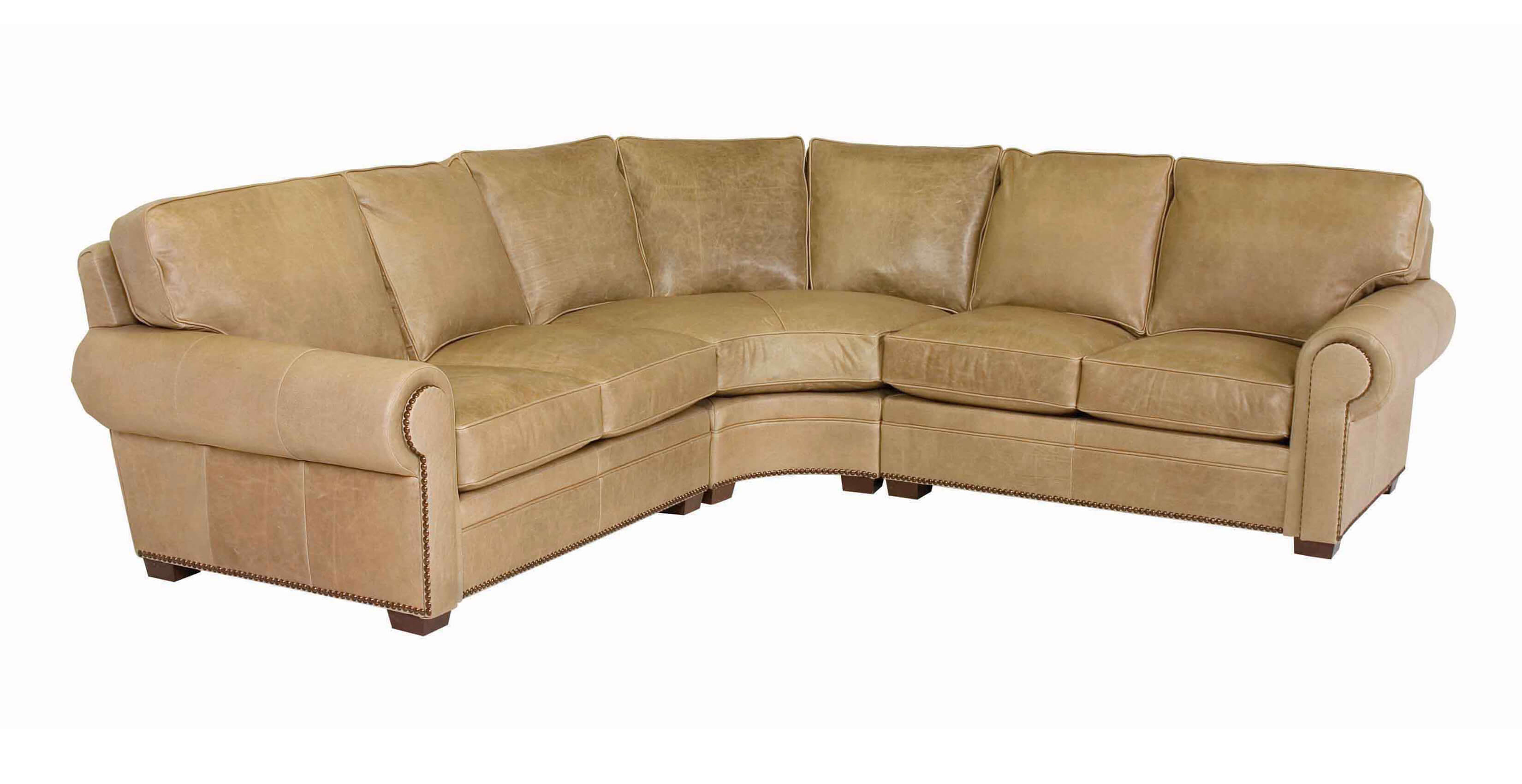 Classic Leather Kirby Sectional