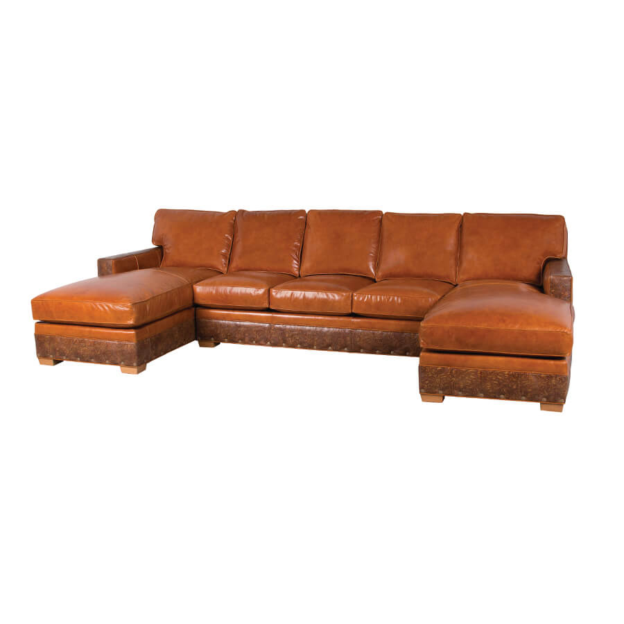 Classic Leather Phoenix Sectional