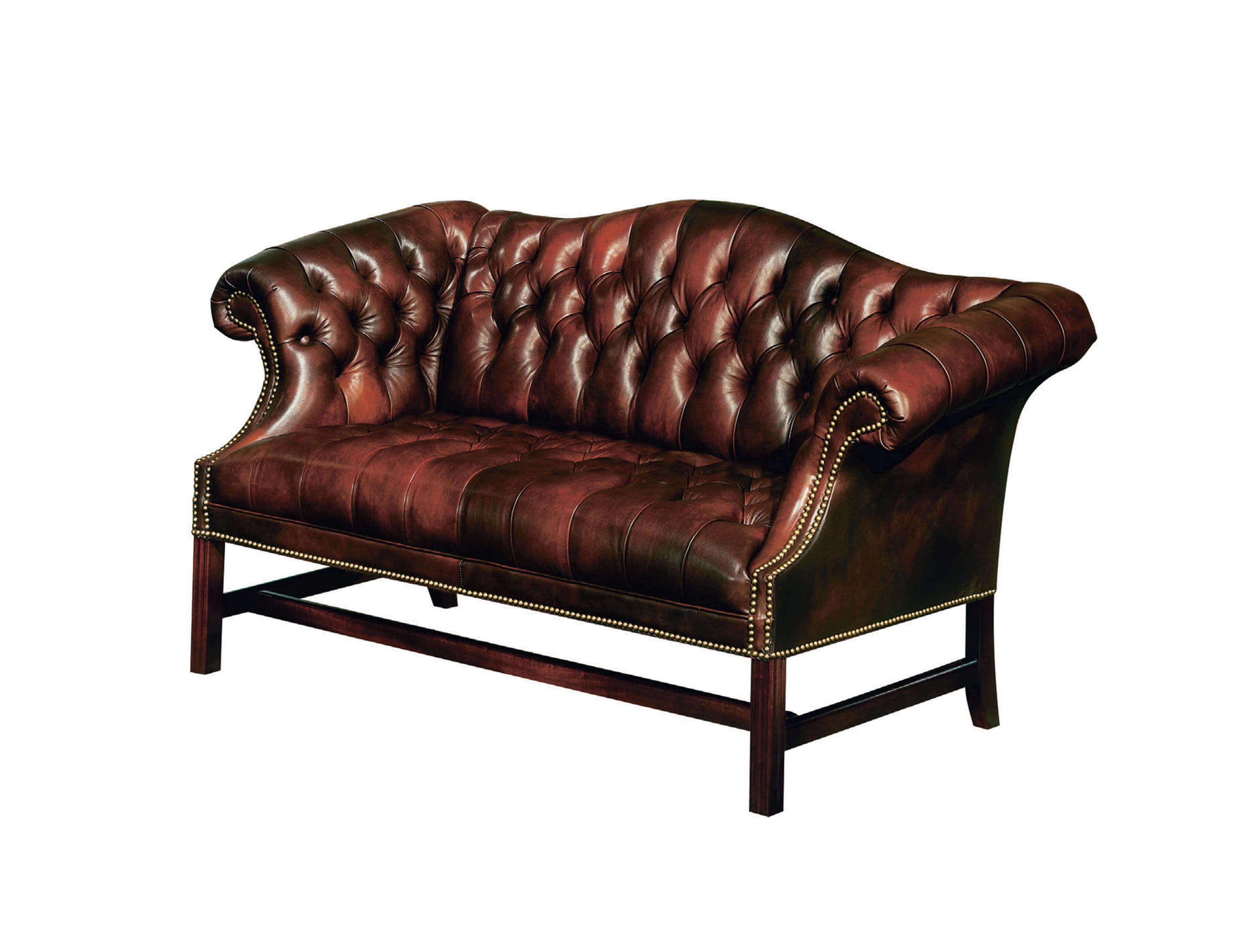 Classic Leather | Tufted Chippendale